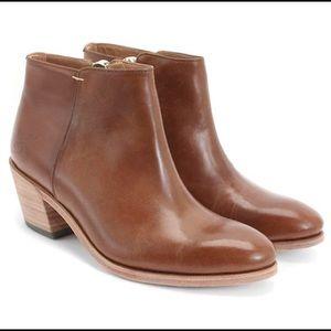 John Fluevog Torii Passage Side Zip Ankle Boots